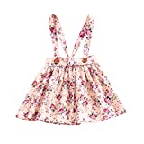 Best Jumper Dresses - YOHA Baby Girls Denim Soft Jumper Dress Suspender Review