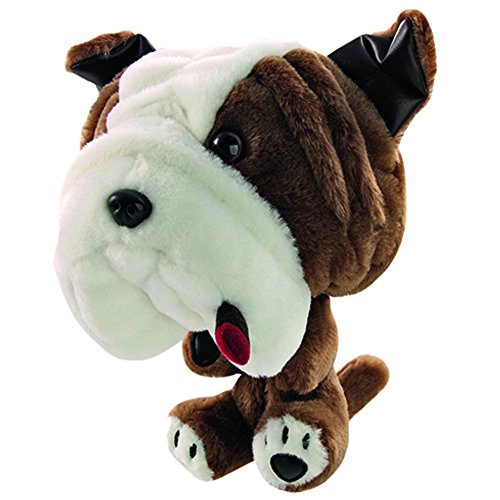 ProActive Sports Zoo Animals Plush Bulldog With Cigar Club Hugger 460 cc Golf Club Headcover (Bulldog Headcover compare prices)