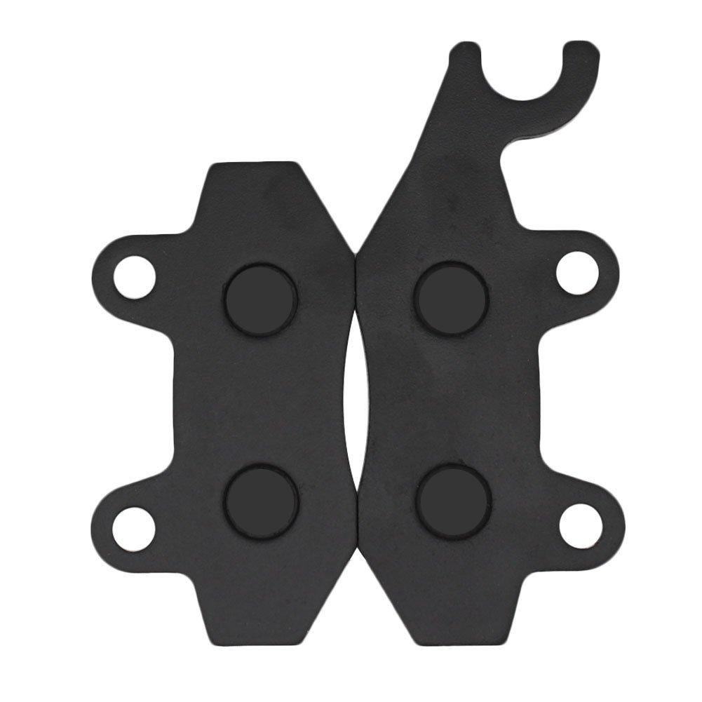 Cyleto Front Brake Pads for Kawasaki KLF300 Bayou 300 1989 1990 1991 1992 1993 1994 1995 1996 1997 1998 1999 2000 2001-2005