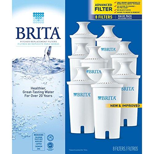 Brita Pitcher Replacement Filters - 8 ct. (Brita Filters 8 compare prices)
