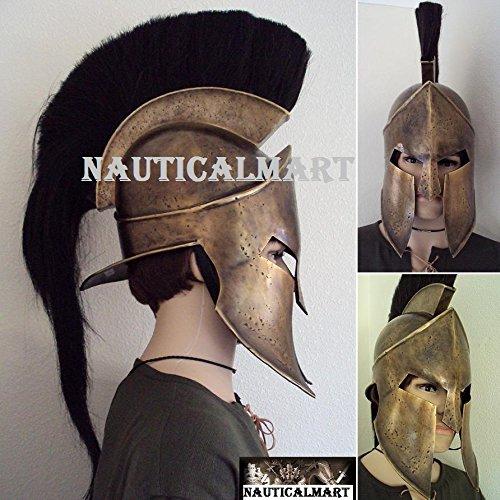 300 King Leonidas Costume (NAUTICALMART Frank Millers 300 King Leonidas Helmet by)