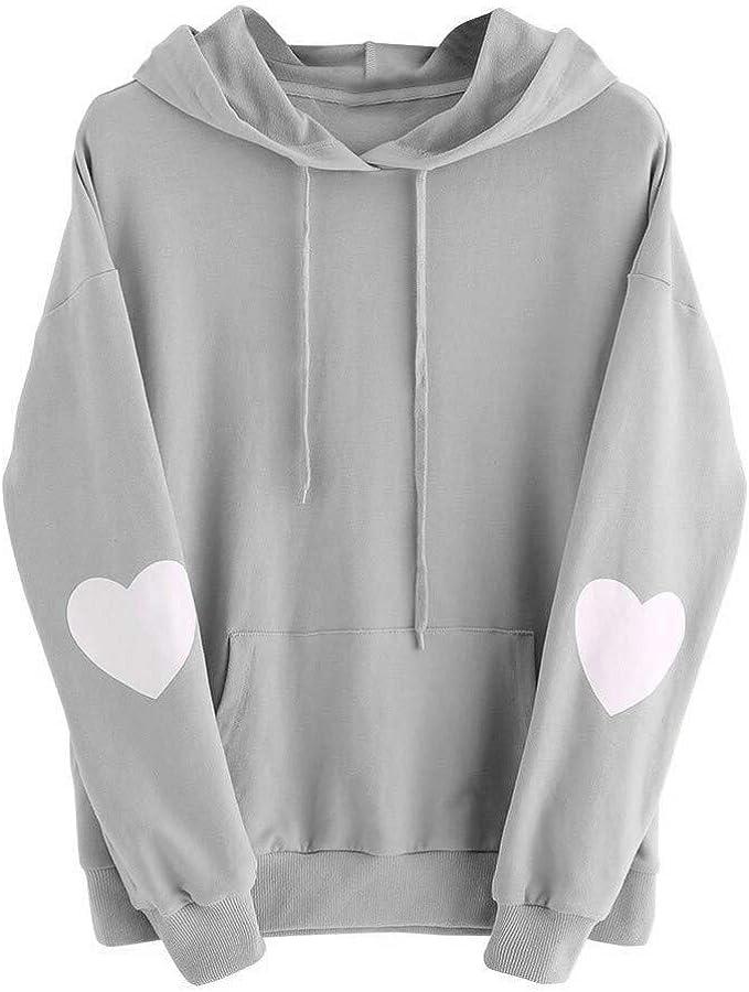 Meikosks Womens Baggy Hooded Sweatshirts Winter Warm Pullover Oversize Long Tops Dress