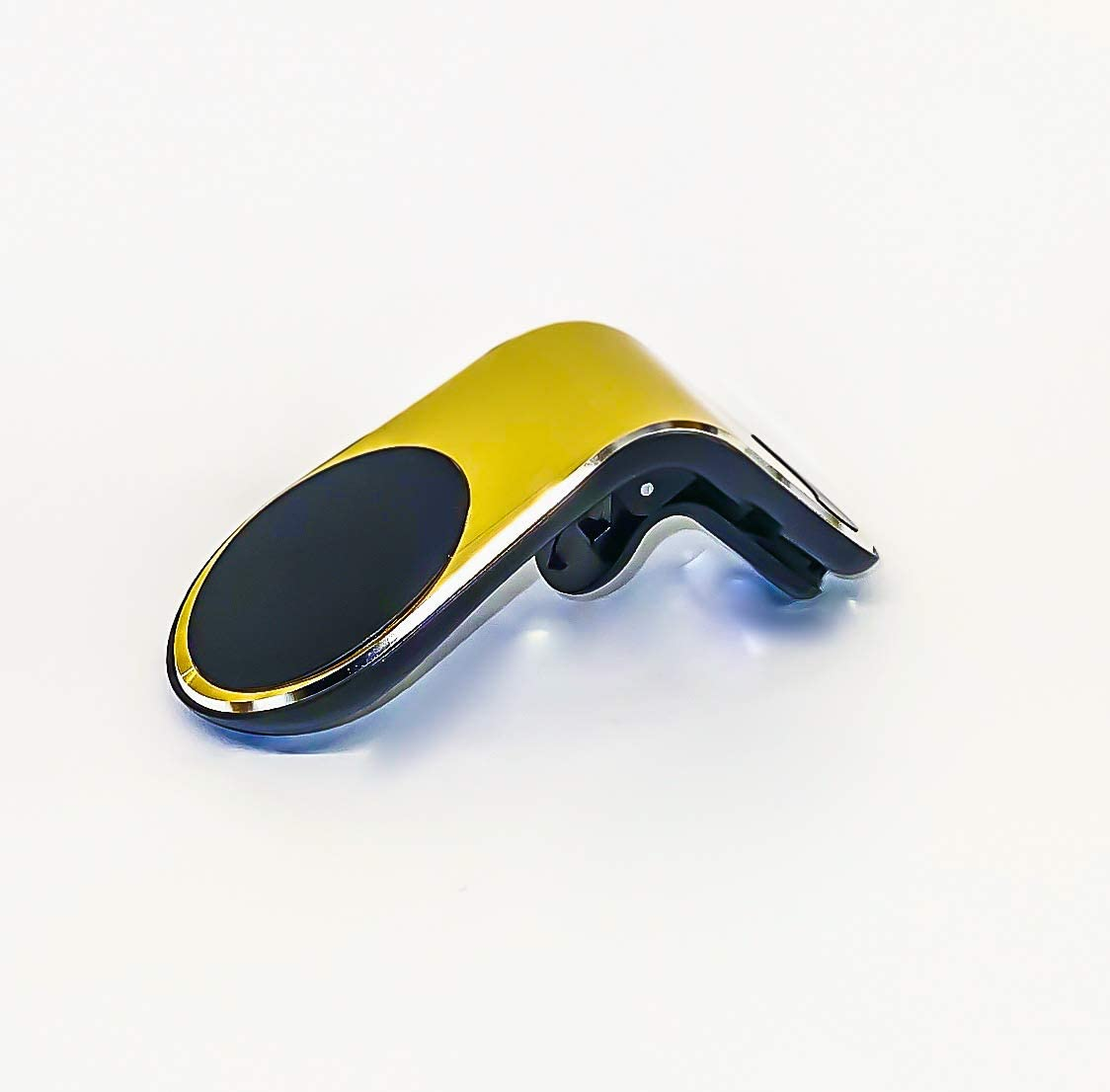 i.e. iPhone, Samsung Gold Compatible with Smartphones HOS Car-Air Vent Mount Magnetic Phone Holder Universal Dashboard Mount Black /& Silver /& Gold Colors Available