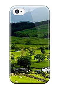Theodore J. Smith's Shop Hot 1575317K21707082 High Impact Dirt/shock Proof Case Cover For Iphone 4/4s (earth Landscape)
