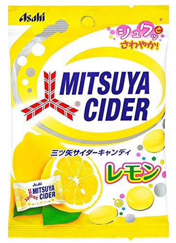 Asahi F & H Mitsuya Cider candy lemon flavor 81gX10 bags by Asahi Food & Healthcare