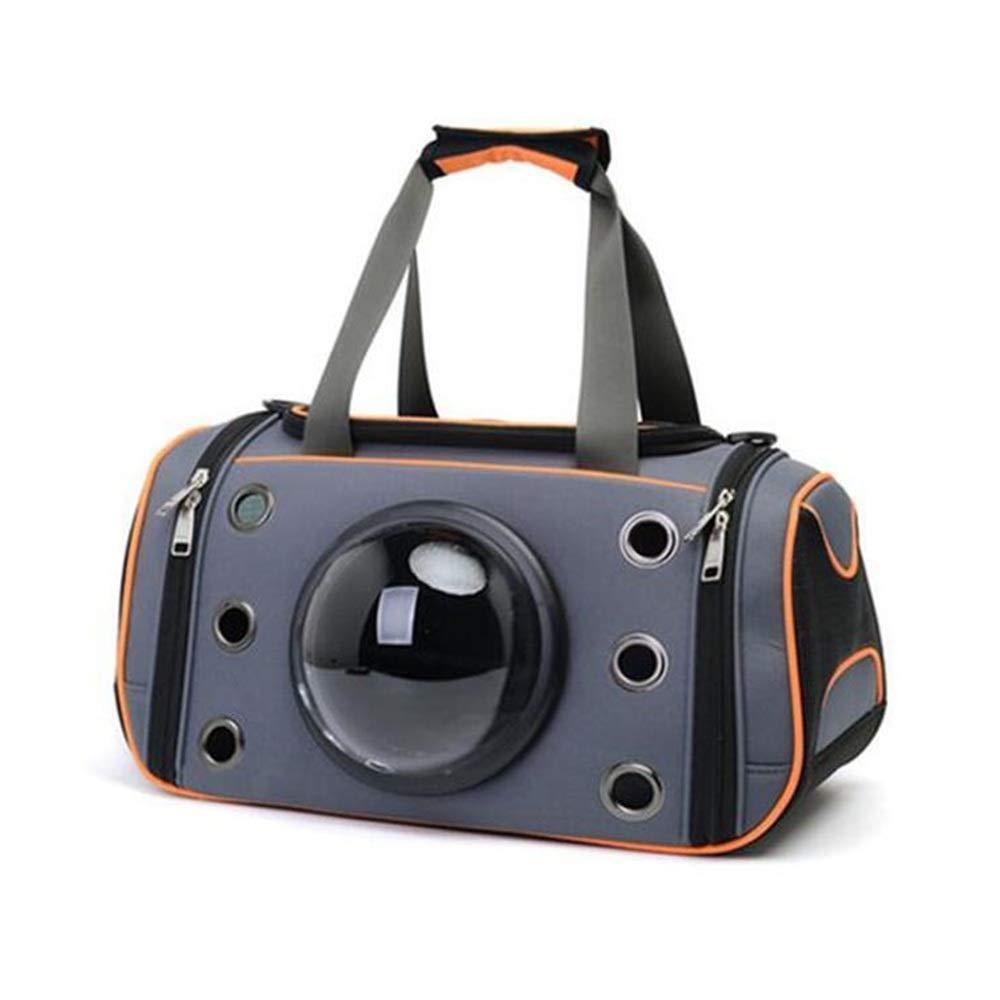 Venta en línea de descuento de fábrica UU Mascotas Paquete De Mascotas Mascotas Mascotas Al Aire Libre Portátil Cat Double Shoulder Bag Espacio Pet Bag (Color : Orange, Tamaño : L)  el más barato