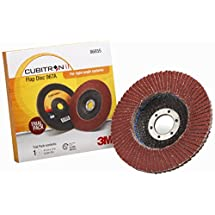3M Cubitron II Flap Disc 967A, Trial Pack T27 4-1/2 in x 7/8 in 40+ Y-weight