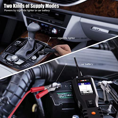 ANCEL PB100 Automotive Circuit Tester Probe Kit Vehicle Diagnostic Test Tool Car Digital Volt Meter 12V 24V Electrical Power AVOmeter AC/DC Voltage Diode Current Resistance Detector