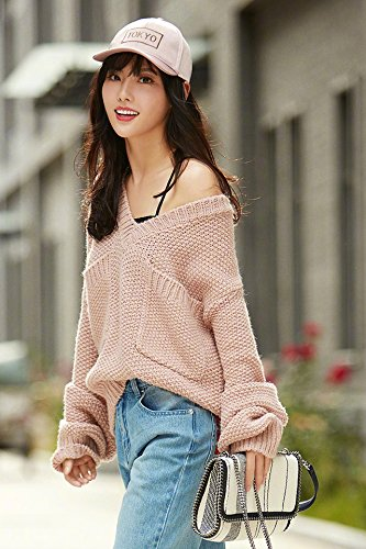 Generic Hitz Liu Wang Ziwen same paragraph woolen suit overalls wide leg pants loose V-neck sweater lazy wind for women girl