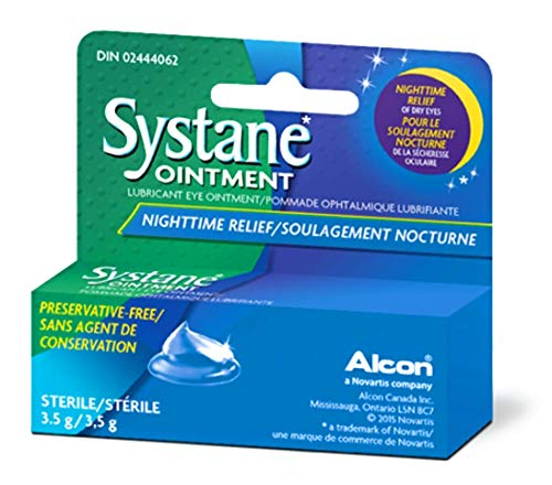 Systane Lub Eye Nightime Ointment 3.5g (6 Pack)