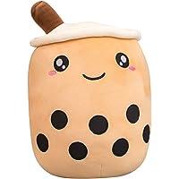 LICHENGTAI Grappige Bubble Tea Pluche Toy Gevulde Melk Thee Pluche Toy, Creatieve Boba Bubble Melk Thee Knuffel Gevulde…