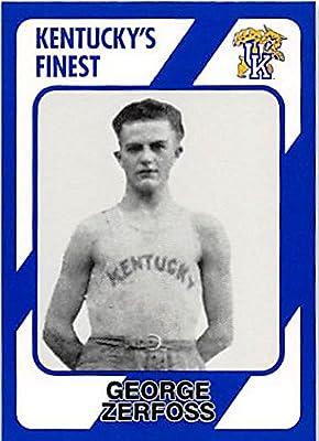 George Zerfoss Basketball Card (Kentucky Wildcats) 1989 Collegiate Collection #187