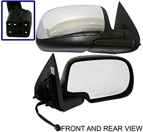 99-02 Chevrolet Silverado Mirror Electric Power Heated RH Passenger Side (Electric Silverado Mirrors)