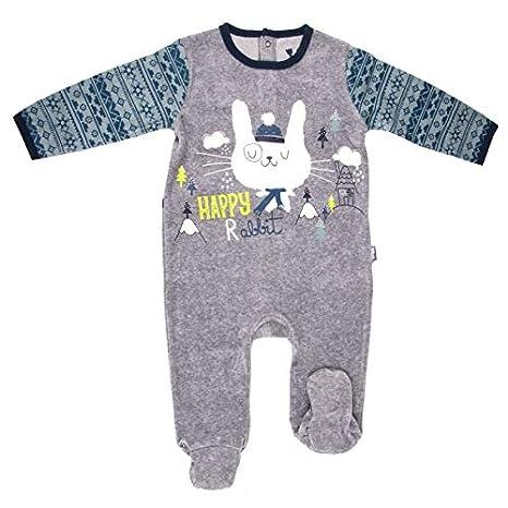 6ee3d7ee81fe2 Pyjama bébé velours Snowfox - Taille - 6 mois (68 cm)  Amazon.fr ...