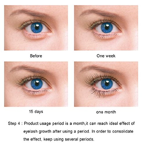 Prolash+ Eyelash Eye Lash Eyebrow Brow Enhancer Enhancing Lengthening Serum For Long, Thick, Soft, Darker, Natural Eyelashes Lashes 5ml
