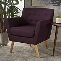 Christopher Knight Home 301451 Arm Chair, Plum +  tural