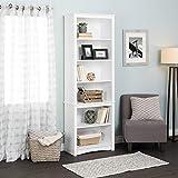 Prepac WSBH-0003-1 Tall Bookcase, White