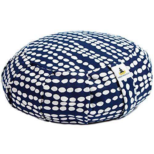 Best Meditation Pillow - Yoga Meditation Cushion Zafu Pillow Buckwheat