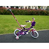 Children bicycle Bike With Parent Handle 12' inch