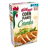 Corn Flakes Kellogg's, Crumbs, Fat-Free, 21 oz Box(Pack of 12)