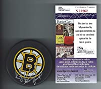 Raymond Bourque Signed Boston Bruins Puck JSA Authenticated -Authentic Hockey Autograph