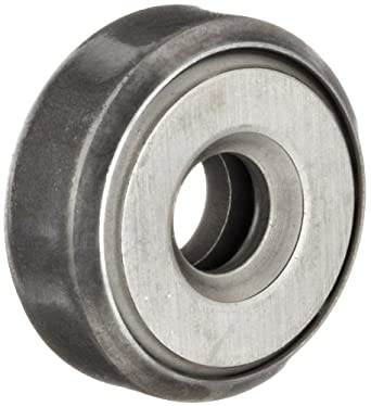 """Nice Thrust Bearing 601V Full Complement Of Balls, Case Hardened Carbon Steel,  0.2500"""" Bore X 0.8438"""" OD X 0.3330"""" Width"""
