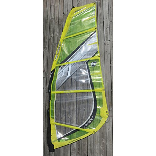 Aerotech Sails 2010 Air-X 4.7 Yellow Windsurfing Sail