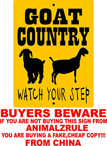 goat-sign-9x12-aluminum-animalzrule-original-design-no-one-else-is-authorized-to-sell-this-sign-any-