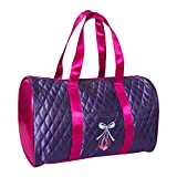 Cheap Horizon Dance 1003 Pretty In Purple Quilted Ballet Bag For Girls