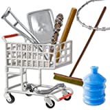 Hardcore Shopping Cart 9 Piece Deal for WWE Wrestling Action Figures