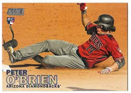 2016 Topps Stadium Club Baseball RC #281 Peter O'Brien Arizona Diamondbacks