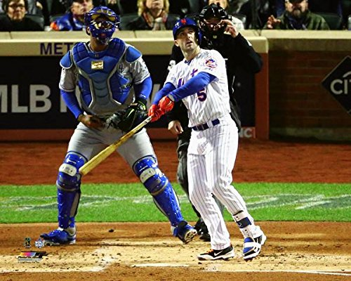 """David Wright New York Mets 2015 World Series Action Photo (Size: 8"""" x 10"""")"""