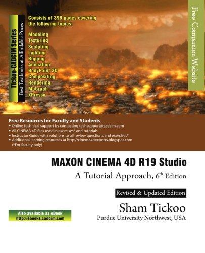 (MAXON CINEMA 4D R19 Studio: A Tutorial Approach)