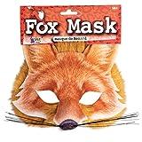 Fox Face Mask Realistic Fur