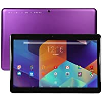 Nuvision 13.3 Full HD IPS Touch Android Tablet Quad Core 1.6GHz 16GB - Purple (Certified Refurbished)