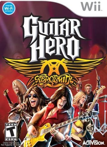 Guitar Hero Aerosmith (Nintendo Wii): Wii: Amazon.es: Electrónica