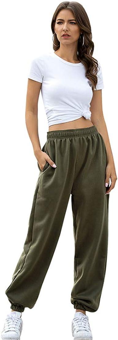 Apht Mujer Sport Trousers 100 Algodon Pantalones De Chandal Con Bolsilpara Gimnasio Deportes Correr Pantalones De Deporte Yoga Fitness Jogger Amazon Es Ropa Y Accesorios