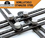 Universal Angularizer Ruler, Stainless Steel Multi Angle Measurement Tool. Full Instructions Included via Email
