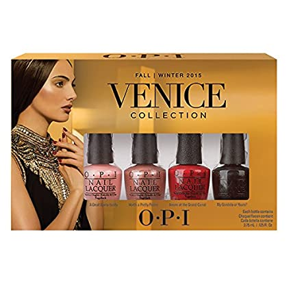 OPI Mini Kit Esmalte De Uñas (Venice Colección) - 4 x 3.75 ml ...