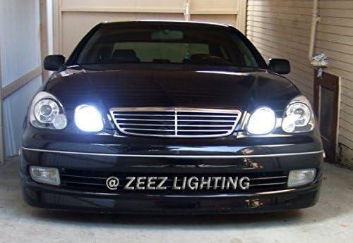 ZEEZ LED Headlight Conversion Kit Headlamp Light Bulb 6000K Xenon HID White Lamp