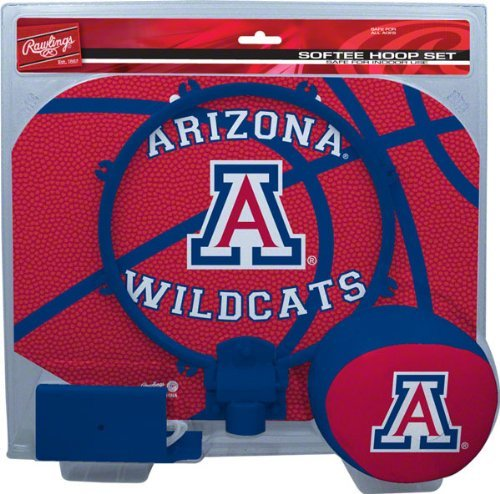 Rawlings Arizona Wildcats Slam Dunk Softee Hoop Set