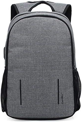 メンズバックパック,USBコンピュータバッグ屋外旅行多機能バックパック防水バックパック夜反射ストリップ