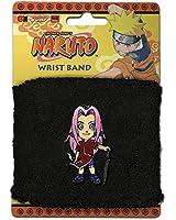 Naruto Men's Sakura Anime Wristband