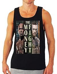 Floyd Mayweather vs Conor McGregor 'The Money Fight' Tank Top by MYOS