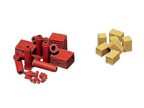 Vollmer H0 5241 - Ladrillos de construcción para maqueta ...