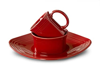 Fiesta 3-Piece Square Place Setting Scarlet  sc 1 st  Amazon.com & Amazon.com | Fiesta 3-Piece Square Place Setting Scarlet ...