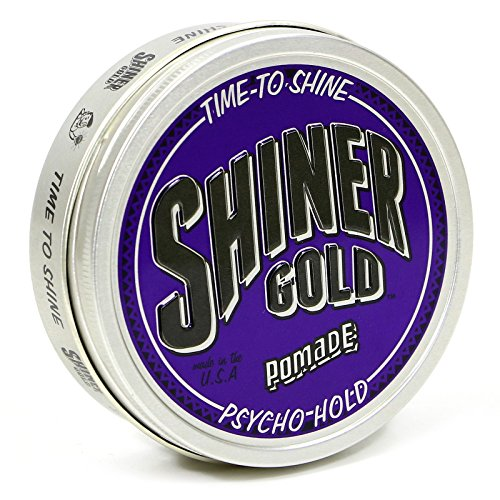 Shiner Gold Psycho Hold Pomade 4oz
