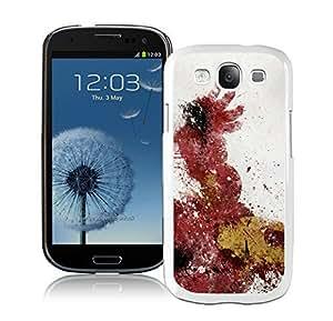 Iron man Case For Samsung Galaxy S3 i9300 White