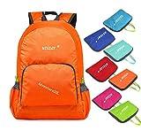 Utizar Lightweight Folding Backpack Gym Bag Foldable Day Backpack Outdoor Bag Travelling Backpack