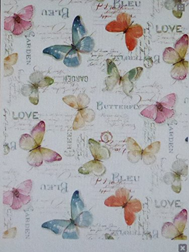 Rainbow Seeds Butterflies Cotton Fabric Wilmington Prints